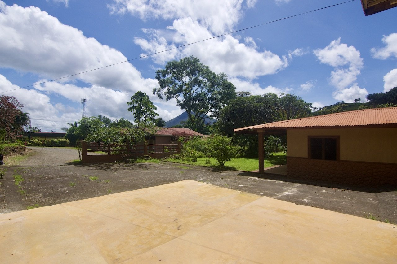 Villas Volcan. Unique river front property and easy to access location.